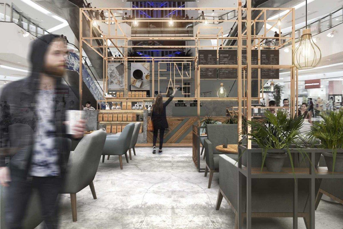 Projekt wnętrza kawiarni ETNO CAFE_galeria