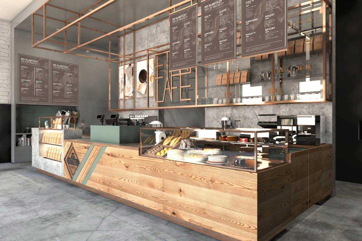 Projekt wnętrza kawiarni ETNO CAFE_bar