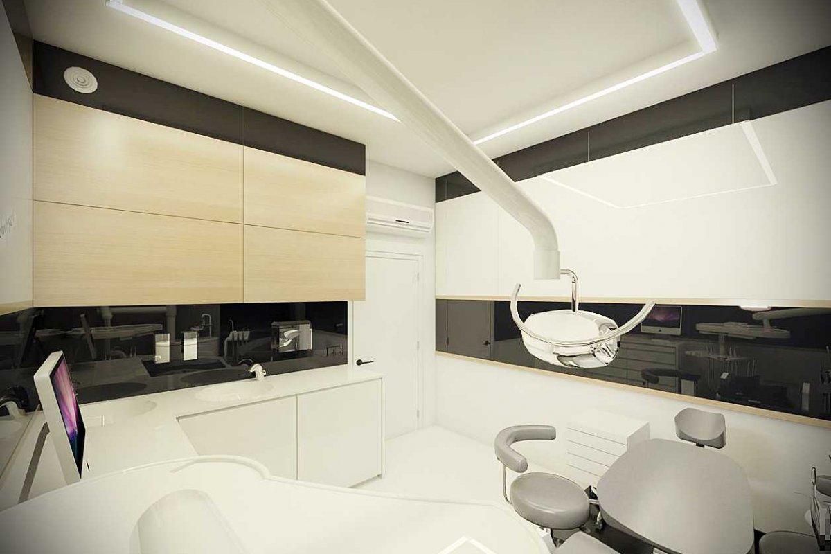 Projekt wnętrz gabinetu stomatologicznego
