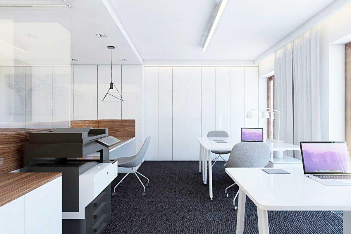Projekt wnętrz biura