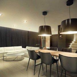 Projekt wnętrz domu salon