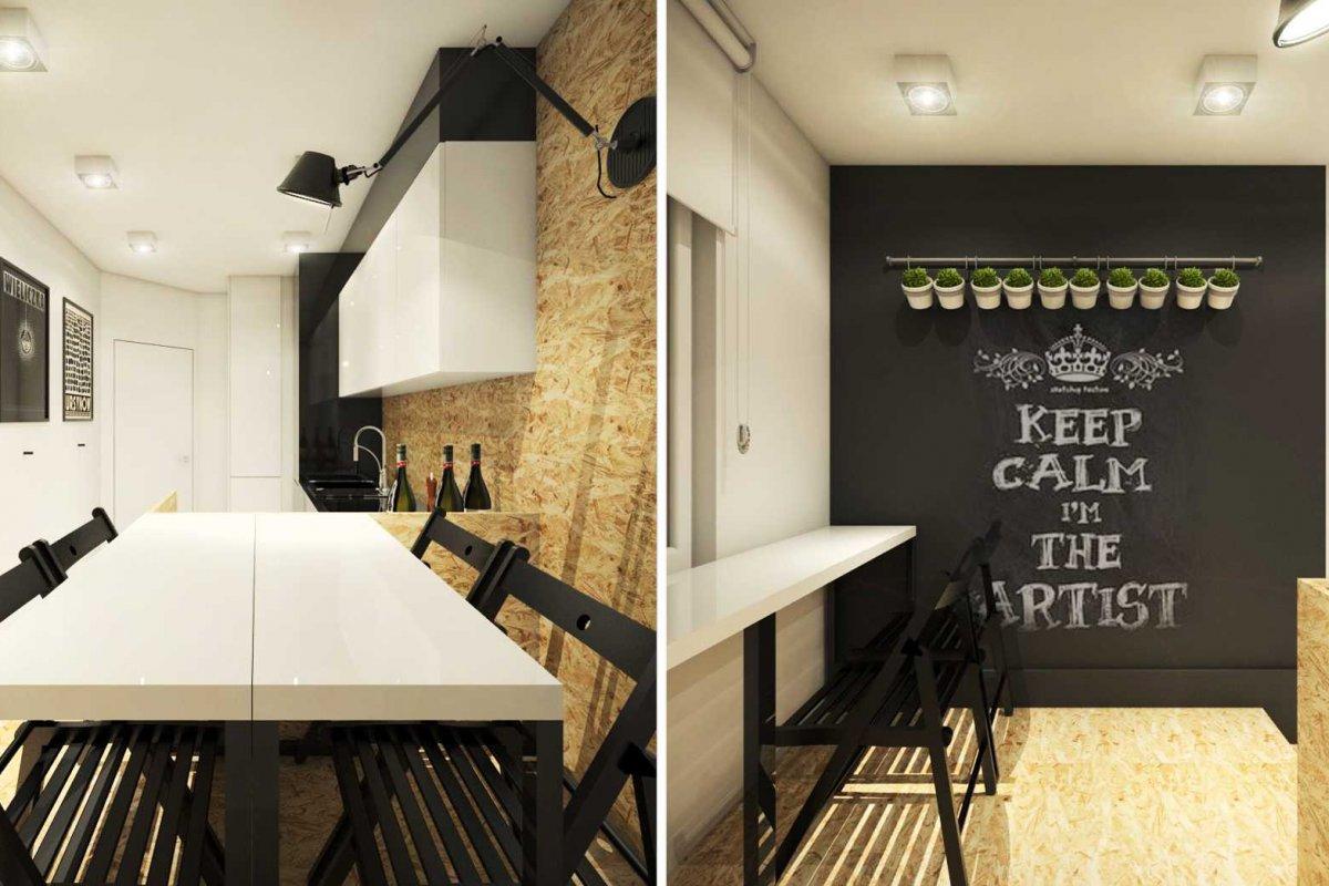 projekt wnętrz kuchni Wrocław