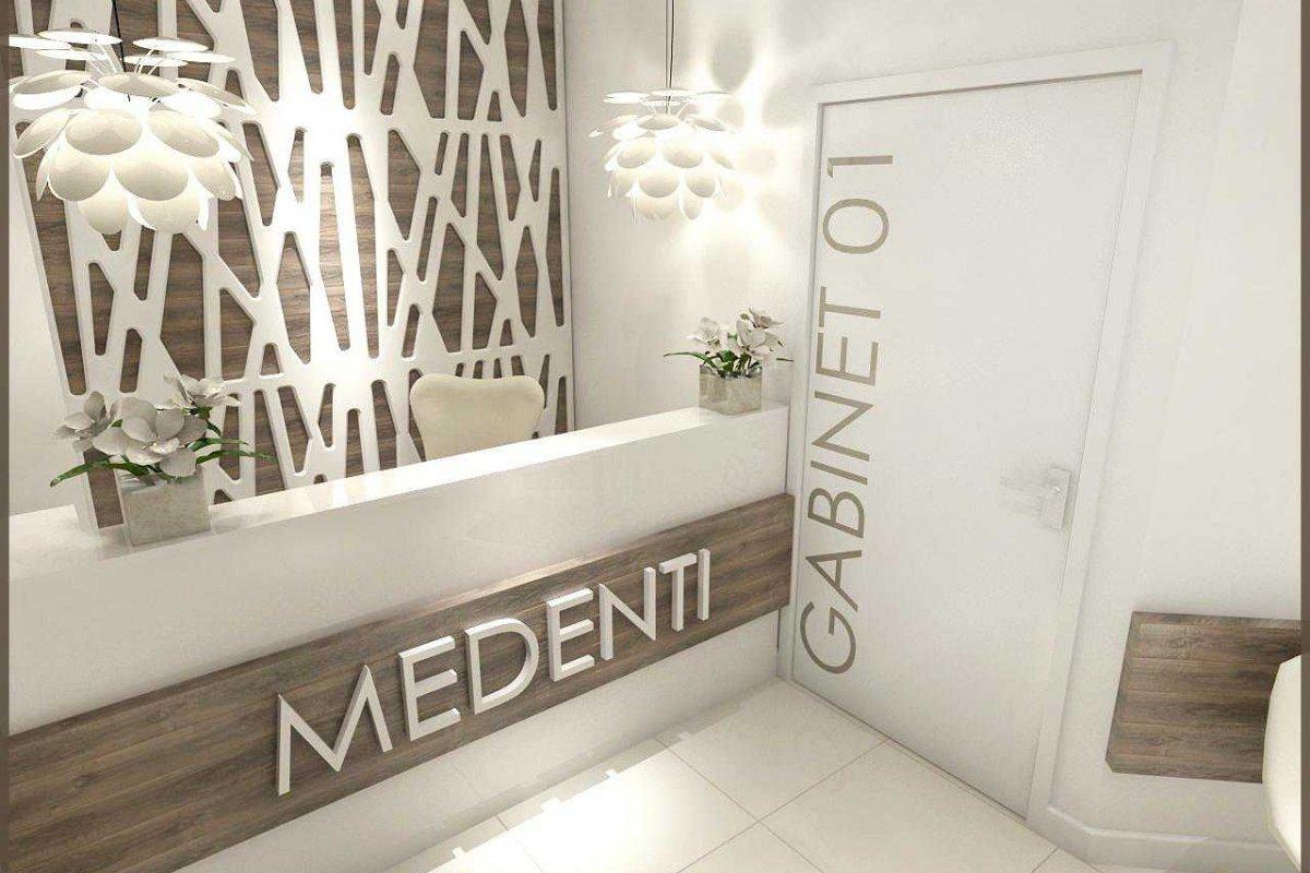 Projekt wnętrz gabinetów stomatologicznych Wrocław