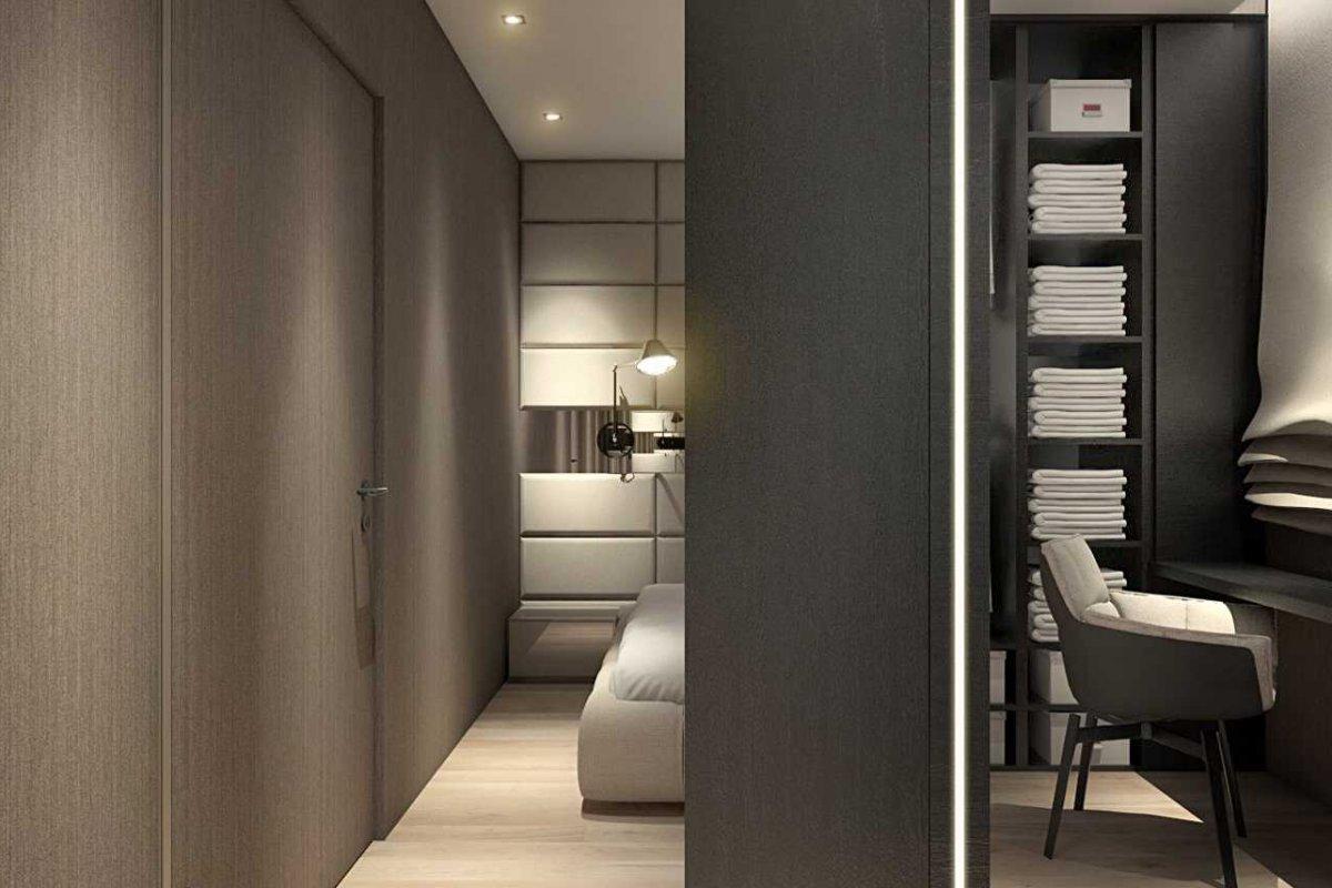 Projekt wnętrz mieszkania dwupoziomowego wrocław