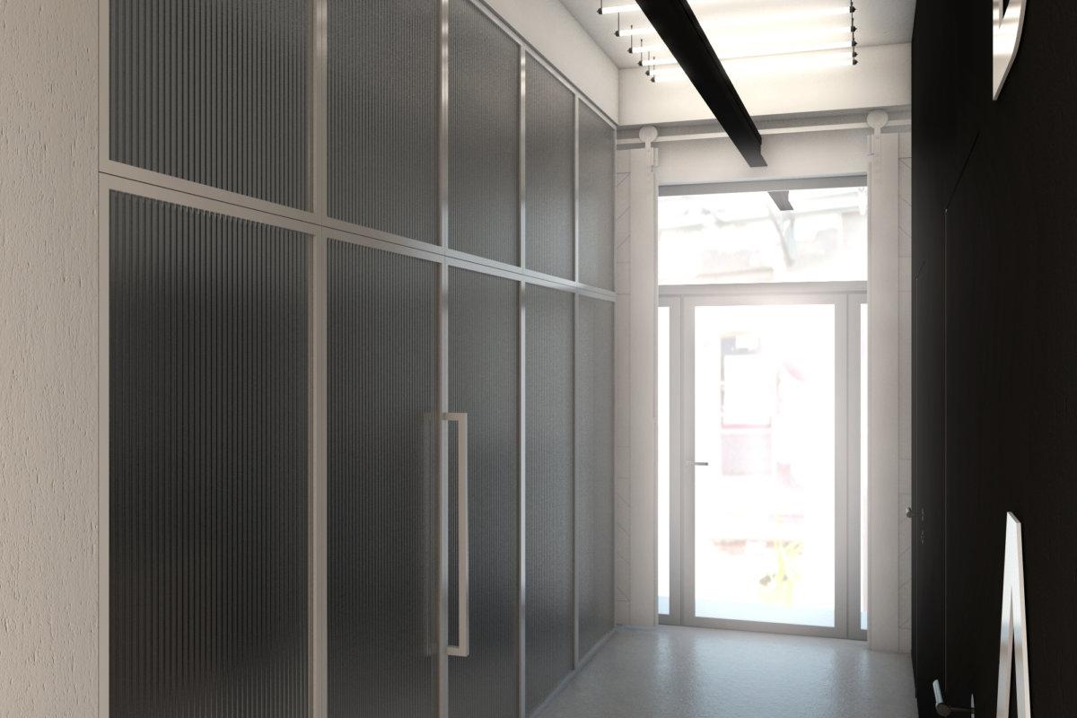 projekt wnętrz biura we wrocławiu, projekt przestrzeni biurowej