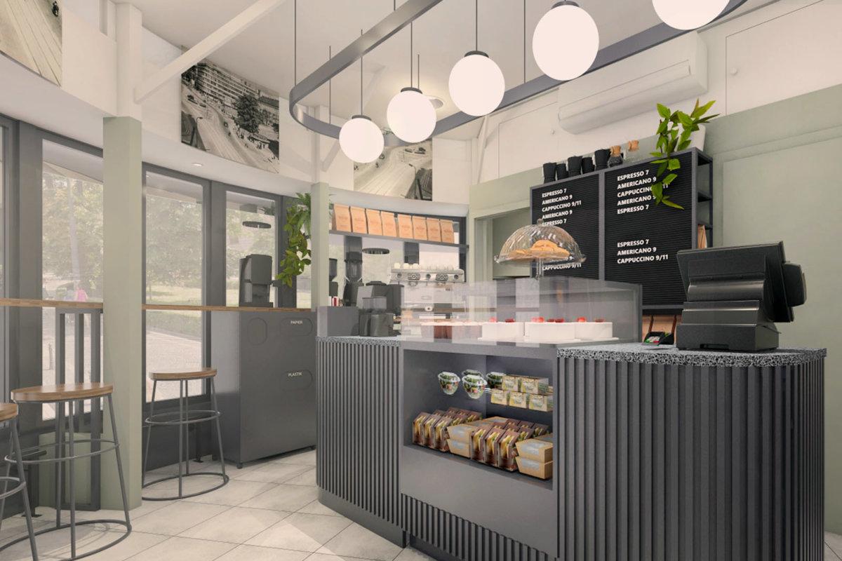 projekt wnętrz kawiarni etno cafe, prost wnętrz gastronomiiprojekt wnętrz kawiarni etno cafe, prost wnętrz gastronomii